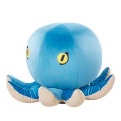 Beliani Octopus Hocker Fluweel 55 X 33 Cm