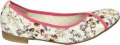Donna Carolina 43.170.186 - Volwassenen Ballerinaschoenen - Kleur: Wit/beige - Maat: 40