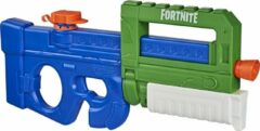 Blauwe NERF waterpistool Super Soaker Fortnite Compact SMG 42 cm