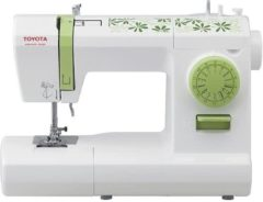 Groene Toyota ECO15CG Electrisch naaimachine