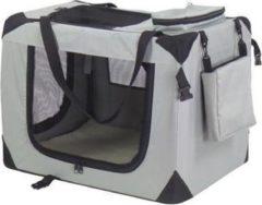 Auto Bench reisBench nylon Bench - honden Bench L grijs 82x58x58 cm