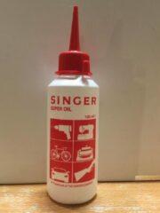 Transparante Singer Super Olie voor o.a. naaimachines (naaimachine olie) 100ml