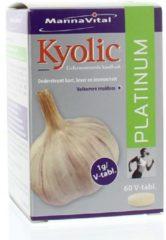 Mannavital Kyolic platinum 60 vegitabs