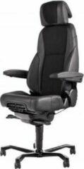 Zwarte Desk4succes 24 uur bureaustoel