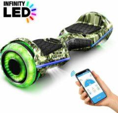 Groene 6,5 inch premium hoverboard Bluewheel HX360 - Duits kwaliteitsmerk - veiligheidsmodus voor kinderen - infinity LED-wielen & app