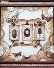 """LaBlanche Home-Dekoration Grußkarten-Set """"Uhren"""", 72tlg."""
