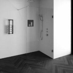 Sanituba Complete Profielloze Inloopdouche 120 cm Chroom