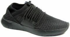 Zwarte FitFlopTM StripknitTM Sneaker