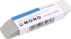 Grijze Tombow Eraser MONO sand & rubber, 13 g, bulk