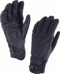 Zwarte Sealskinz Highland Glove - Fietshandschoenen - Dames - Maat L - Black