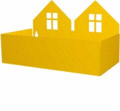 Gele Roommate Twin House Opbergbox 13 x 22 cm - Geel