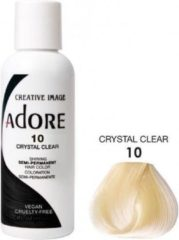 Adore Shining Semi Permanent Hair Color Crystal Clear-10