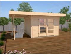 Weka tuinhuis Design 126A Gr.1 10,7m²