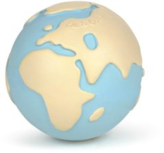 Blauwe Oli & Carol Badspeeltje Wereldbol | Earthy The World Ball
