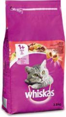 Whiskas Brokjes Adult Rund - Kattenvoer - 3.8 kg - Kattenvoer