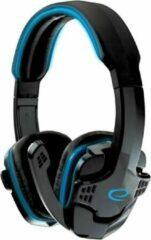 Esperanza Gaming Headset met Microfoon - PC - Wired met Volumeregeling– Blauw/Zwart
