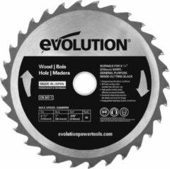 Evolution EVO 210mm zaagblad voor hout