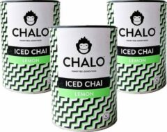 CHALO Iced Tea - Lemon Iced Chai Pakket - Zwarte Assam thee -3 x 300GR