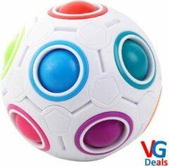 Witte VG Deals Fidget Bal Puzzel   Speelgoed   Rage   Puzzel Ball   Stress Bal   Friemel Puzzel Bal Glow in The Dark   Nieuw Model Fidget   Fidget Puzzle Ball