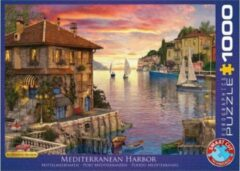 Eurograph Puzzel 1000 stukjes - Mediterranean Harbor