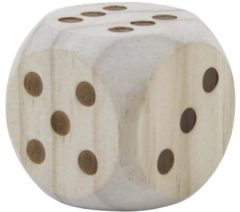 Longfield WOODEN DICE 5,5 CM IN BOX
