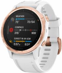 Roze Garmin Fenix 6S Pro multisporthorloge met GPS - Horloges