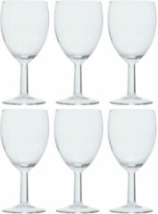 Transparante Arcoroc 12x Stuks wijnglazen voor witte wijn 350 ml - Savoie - Bar/cafe benodigdheden - Wijn glazen