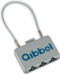 Zilveren Qibbel Air Slot Lang Geschikt Voor Mini En Maxi