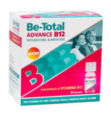 Pfizer Be Total Advance B12 concentrato di vitamina B12 30 flaconcini