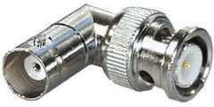 Zilveren Oks Goobay UG 306/U BNC BNC kabeladapter/verloopstukje