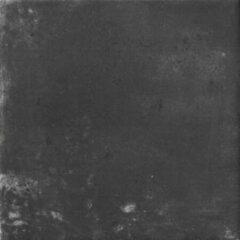Cir Miami Vloertegel 20x20cm 10mm vorstbestendig Pitch Zwart Mat 1513582
