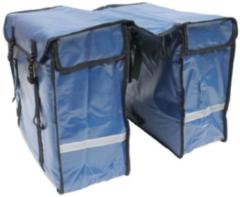 Lastpak - Dubbele Fietstas - 46 Liter - Bisonyl Blauw