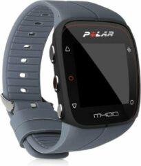 Antraciet-grijze Kwmobile horlogeband voor Polar M400 / M430 - siliconen armband voor fitnesstracker - antraciet