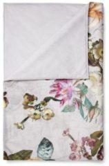 Grijze Essenza Fleur Sprei 220 x 265 cm