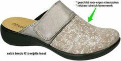 Westland -Dames - beige - pantoffels - maat 37