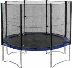 Zwarte Rainbow Trampolines Universeel Veiligheidsnet voor trampolines 305 cm met 4 poten