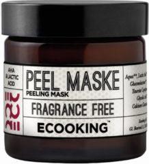 Transparante Ecooking Peeling Mask - Exfoliërend masker met natuurlijke zuren en ingrediënten - Voor een doffe en vermoeide huid - Pot 50 ml