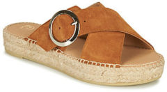 Bruine Slippers Betty London MARIZETTE