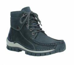 Hoge Sneakers Wolky 04725 Jump winter - 50810 grijs-blauw geolied nubuck