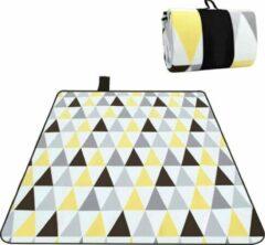 Sens Design XXXL Waterdicht Picknickkleed – 200x300 cm – Buitenkleed Geel