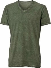 James & Nicholson Fusible Systems - Heren James and Nicholson Gipsy T-Shirt (Donkerbruin)