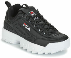 Fila - Disruptor - Sneaker laag gekleed - Dames - Maat 42 - Zwart;Zwarte - 25Y -Black