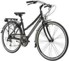 28 Zoll Damen Trekking Fahrrad 21 Gang Adriatica Boxter HP Lady Adriatica matt-schwarz