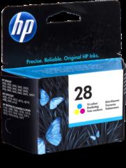 HP inktcartridge 28, 240 pagina's, OEM C8728AE#301, 3 kleuren, met beveiligingssysteem