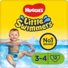 Huggies Little Swimmers - zwemluiers - maat 3/4 - (7 tot 15 kg) - voordeelbox