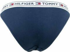 Tommy Hilfiger Dames logo slip blauw