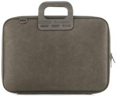 Bombata 15,6 inch Laptoptas Denim Jeans - 15 - Taupe Bruin