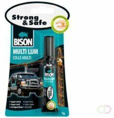 Bison Multilijm Strong & Safe 7 gram blister