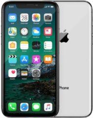Zwarte Apple Refurbished IPhone X | 256 GB | Zilver | Licht gebruikt | 2 jaar garantie | Refurbished Certificaat | leapp