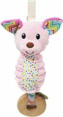 Infantino Go-Gaga - Chime - Pink dog Infantino Go-Gaga - rammelaar - Roze hond